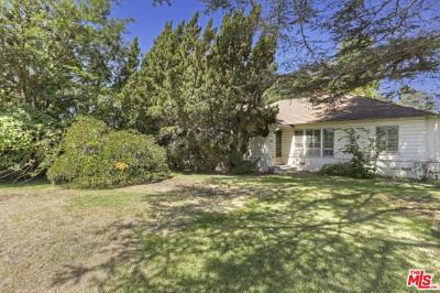 Studio City Single Family Home Sold: 12403 Landale Street