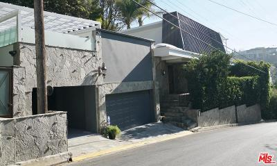 Single Family Home For Sale: 1534 North Doheny Drive