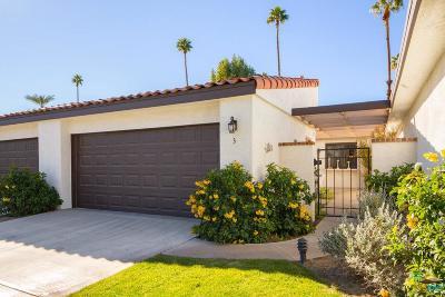 Rancho Mirage Condo/Townhouse Active Under Contract: 3 Juan Carlos Drive