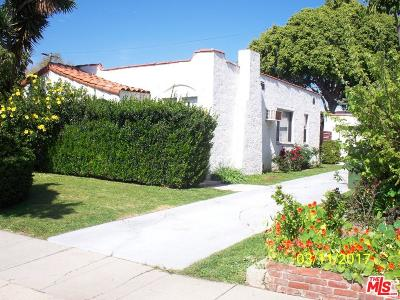 Los Angeles Single Family Home For Sale: 4354 Coolidge Avenue