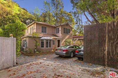 Los Angeles Single Family Home For Sale: 1712 North Beverly Glen
