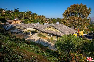 Studio City Single Family Home For Sale: 3540 Willowcrest Avenue