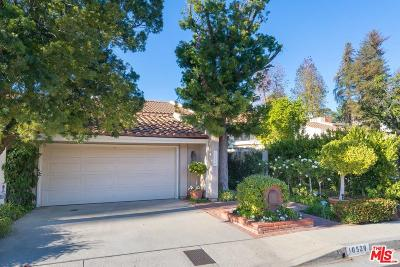 Los Angeles Single Family Home For Sale: 10529 Clearwood Court