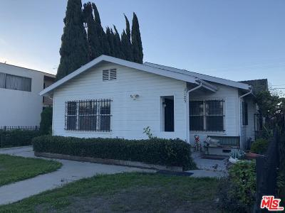 Mid Los Angeles (C16) Single Family Home For Sale: 2125 West View Street