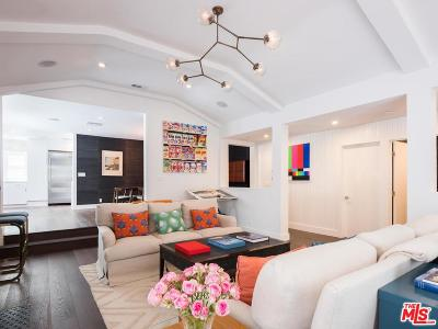Beverly Hills Single Family Home For Sale: 1633 North Beverly Drive