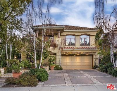 Calabasas Single Family Home Active Under Contract: 4328 Park Verdi