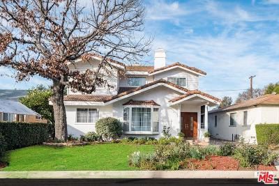 Van Nuys Single Family Home Active Under Contract: 5729 Burnet Avenue