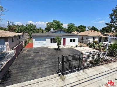 Pacoima Single Family Home Active Under Contract: 10582 Telfair Avenue