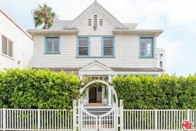 Santa Monica Single Family Home For Sale: 26 Arcadia Terrace