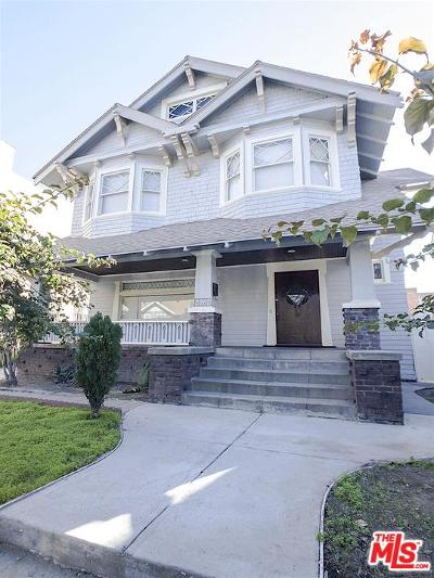 Mid Los Angeles (C16) Single Family Home For Sale: 2262 Cambridge Street