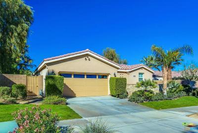 La Quinta Single Family Home Active Under Contract: 81098 Barrel Cactus Road