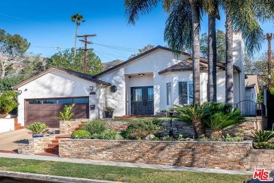 Burbank Single Family Home Active Under Contract: 2760 North Lamer Street
