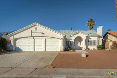 Cathedral City Single Family Home For Sale: 27715 Hombria Drive