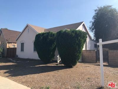 Altadena Single Family Home For Sale: 526 Alberta Street