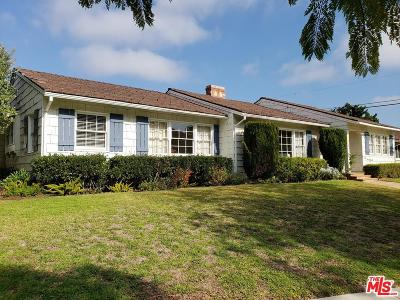 Pacific Palisades Single Family Home For Sale: 15415 Albright Street