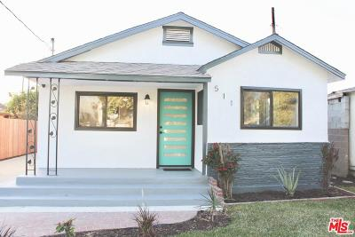 Compton Single Family Home For Sale: 511 South Butler Avenue
