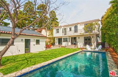 Santa Monica CA Single Family Home For Sale: $4,295,000