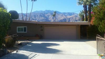 Palm Springs Single Family Home For Sale: 1270 Pasatiempo