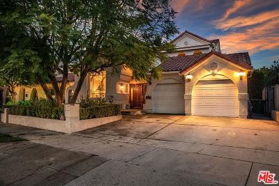 Toluca Lake Single Family Home For Sale: 10411 Woodbridge Street