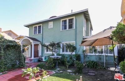 Single Family Home For Sale: 942 South Bronson Avenue