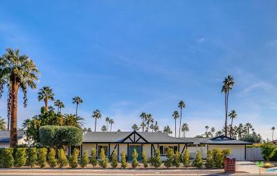 Palm Springs Single Family Home For Sale: 2106 South Divot Lane