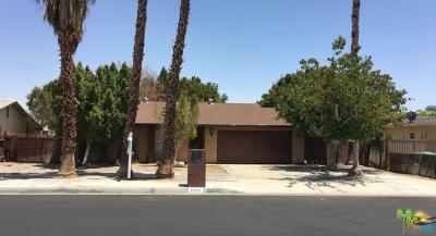 Cathedral City Single Family Home For Sale: 31620 San Eljay Avenue