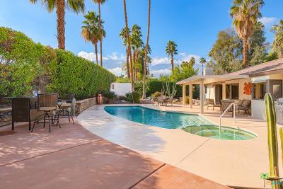 Palm Springs Single Family Home For Sale: 3599 East El Gaucho Circle