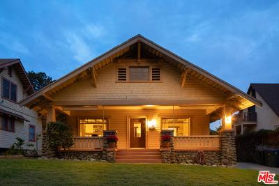 Pasadena Single Family Home Active Under Contract: 1048 North Marengo Avenue