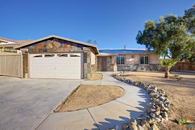 Desert Hot Springs Single Family Home For Sale: 9780 El Mirador