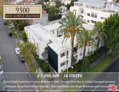 Beverly Hills Residential Income For Sale: 9500 West Olympic