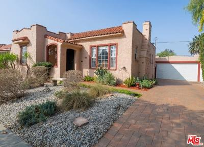 Los Angeles Single Family Home For Sale: 1637 South Curson Avenue