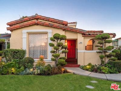 Beverlywood Vicinity (C09) Single Family Home For Sale: 1776 South Garth Avenue