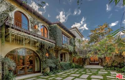 Beverly Hills Single Family Home For Sale: 715 North Alpine Drive