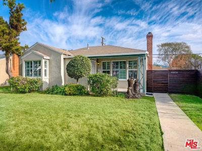 Culver City Single Family Home For Sale: 10854 Pickford Way