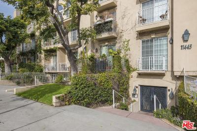 Studio City Condo/Townhouse Sold: 11445 Moorpark Street #12
