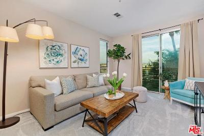 Los Angeles County Condo/Townhouse Active Under Contract: 6400 East Crescent Park #313