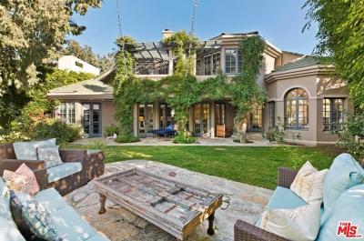 Pacific Palisades Single Family Home For Sale: 1433 El Bosque Court