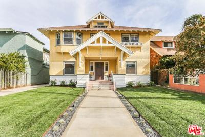Mid Los Angeles (C16) Single Family Home For Sale: 1740 South Harvard