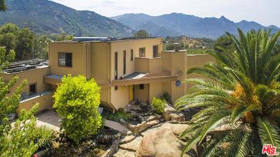 Los Angeles County Single Family Home For Sale: 25624 Monte Nido Drive