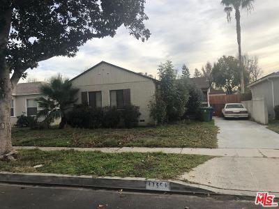 Single Family Home For Sale: 17354 Hamlin Street
