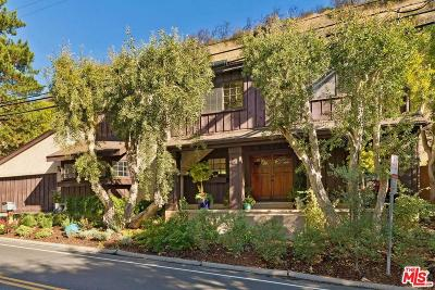 Single Family Home For Sale: 2964 Mandeville Canyon Road