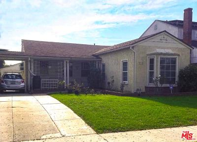 Inglewood Single Family Home Active Under Contract: 212 West 64th Place