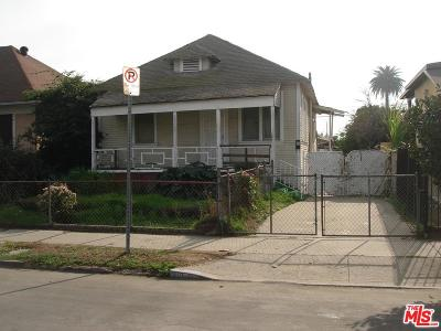 Los Angeles Single Family Home For Sale: 136 East 54th Street