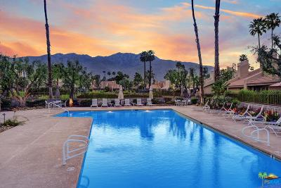 Palm Springs Condo/Townhouse For Sale: 2950 East Escoba Drive #A