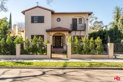 Los Angeles CA Single Family Home For Sale: $2,895,000