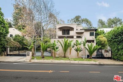 Beverly Hills Single Family Home For Sale: 1600 Benedict Canyon Drive