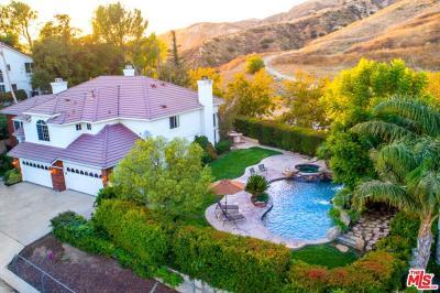 Granada Hills Single Family Home For Sale: 18005 Dali Drive