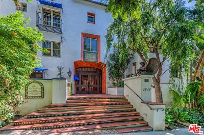 Los Angeles County Condo/Townhouse Active Under Contract: 1414 North Harper Avenue #7