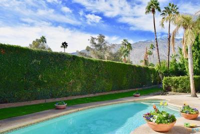 Palm Springs Single Family Home For Sale: 1055 East Via Colusa