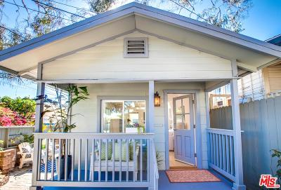 Santa Monica Single Family Home For Sale: 3014 7th Street